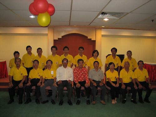 佛义校友会新届理事2008-2010