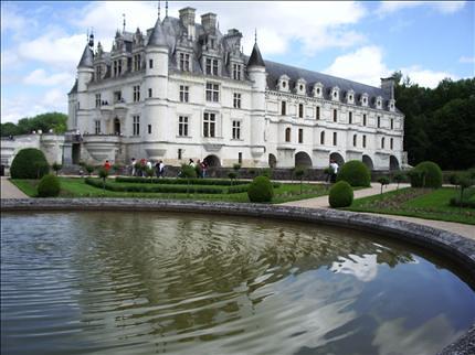 Castillo Chenonceau, valle del Loira, Francia