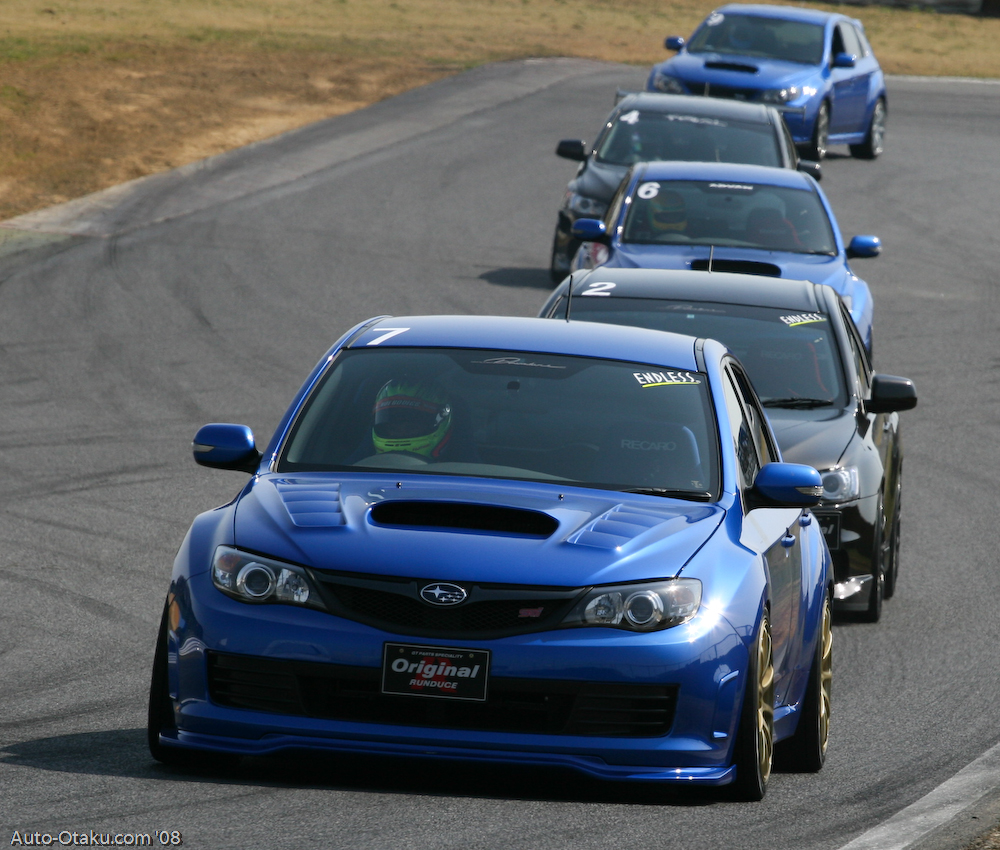 3 - Subaru Impreza WRX STI