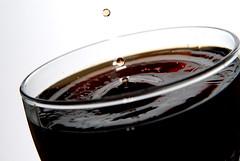 Coke 2 (Flavio@Basel) Tags: macro art glass frozen nikon sigma coke drop cocacola 1850 1850mm d80