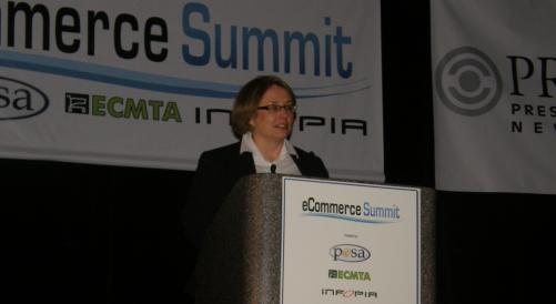 Lorrie Norrington at eCommerce Summit