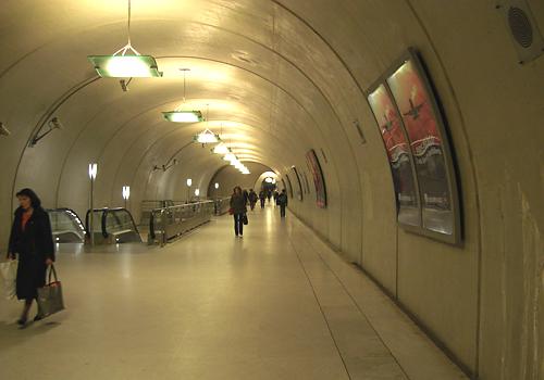 Couloir RER E