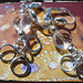 Orecchini cristallo - Crystal earrings MEHDPCR