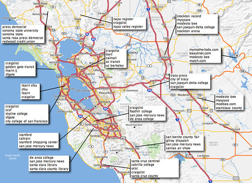 Consultas regionales distintivas