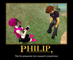 Philip, You've advanced this human's condition! ( TORLEY ) Tags: world new hair that landscape spiky hope us 3d lab colorful all pants awesome avatar linden pray 1999 an where human experience online around them form create isnt build revolutionary miracles philip shared connect torley afk rosedale founded individuals condition advances jointly inhabit automotivator