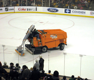 Gillette Sponors Zambonis, Ice Becomes Less Hairy
