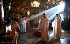 Divine Liturgy (Tanjica Perovic) Tags: life morning winter light people sunlight art church window beautiful feast worship icons candles candle cross artistic god interior faith prayer serbia religion praying atmosphere naturallight icon christian holy monastery impact soul document strong service rays christianity balkans tradition sunrays seminary orthodox powerful soulful beams atmospheric orthodoxchristian mystic liturgy sunbeams priests reportage vestments raysoflight srbija clergy serbian believers effective orthodoxchristianity iconostasis pravoslavie churchinterior pirot amazinglight godslight sigma1770mm pravoslavlje canoneos400d peoplepraying  southeastserbia orthodoxserbia greatentrance orthodox
