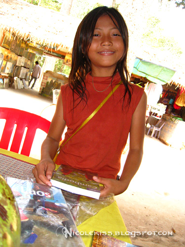 kid selling books