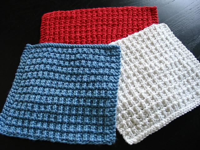Ravelry Dish Cloth Knit Pattern By Lion Brand Yarn