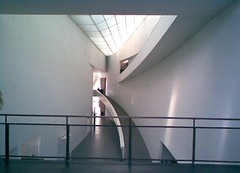 Photo of interior, Kiasma gallery