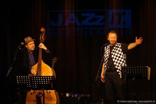 Georg Breinschmid: bass / Thomas Gansch: trumpet