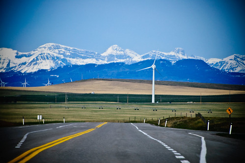 Wind Turbines & the Rockies