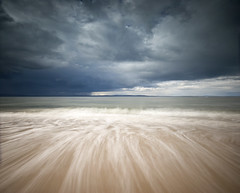Nairn - West Beach (freeskiing) Tags: longexposure sea beach water clouds scotland spring highlands may dramatic explore groyne moray inverness firth nairn morayfirth sigma1020mm highlandsofscotland nd1000 nd110 ndgrad09 benthorburn cromartysutors