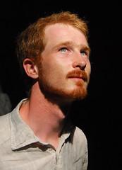 frederic from darkness (sharkoman) Tags: light portrait eyes redhead ritratto luce frederic mrpan sharkoman