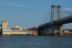 Williamsburg Bridge (section215) Tags: nyc newyork brooklyn eastriver gothamist williamsburgbridge canon7d