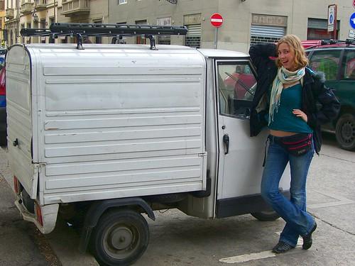 Small Lorry in Italy by Danalynn C