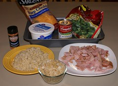 broccoli ham casserole ingredients