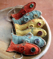 fresh fish (lilfishstudios) Tags: fish recycled handmade sewing craft etsy repurposed lilfishstudios