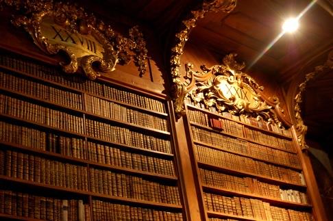 Ornate Bookcases