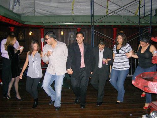 Strange Hand-Holding Dance