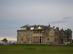 The Clubhouse at dusk (thaweaz) Tags: st golf andrews