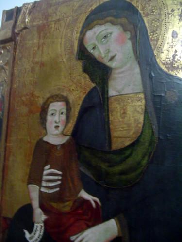 Retablo de la Virgen con Niño