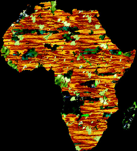 African transparency map