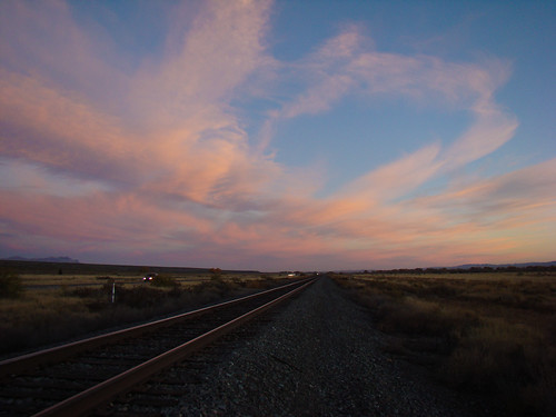 railroad out of dawn