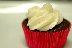 Chocolate Cupcake with Vanilla Buttercream Frosting (jen.rizzo) Tags: food