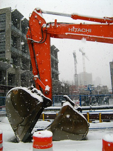 Snowy Digger