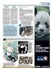 FOTO DEL PANDA EN 20 MINUTOS /  MY PANDA PHOTO IN THE NEWSPAPER (danihernanz) Tags: madrid nightpictures urbanpictures streetpictures artisticpictures danihernanz danielhernanz animalspictures moodpictures danielhernanzfotografodemadrid animalsphoto mountainspictures ambientpictures lasmejoresfotosdemadrid artisticanimalpictures allrightsreservedinallmypicturesdontusewithoutmypermission copyrightdanihernanz fotosartsticasdemadrid fotosdemadridenblancoynegro blackandwhiteurbanpictures amazingurbanpictures fotografodeanimalsdanihernanz amazinganimalpictures agressiveanimalpictures animaldetailpictures animalsfacetoface closeupanimalpictures thebestpicturesofanimals beautifullandscapespictures ambiancepictures pictureswithatmosphere