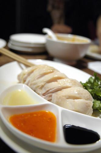 ゆで鶏と3種のソース, 海南鶏飯食堂, 麻布