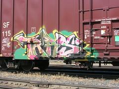 Tars (jaroh) Tags: train graffiti freight tars