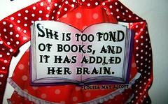 Adled her brain