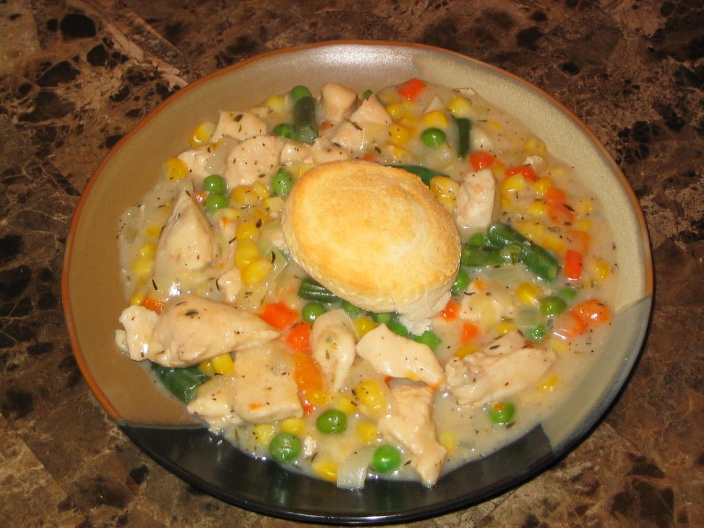 Chicken and Ham Pot Pie