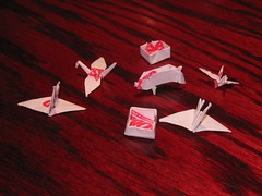 Red Robin Origami