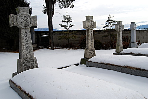 'Dead Irishmen Row,' Jungnim-dong Cathedral