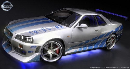 Car Modification: Nissan Skyline GTR From 2 Fast 2 Furious