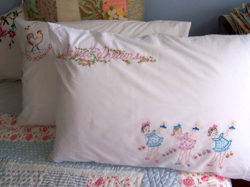Pillowcases To Embroidery Free Embroidery Patterns