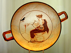 travel holiday history cup museum oracle ancient delphi drinking free statues greece dennis iamcanadian kylix worldtravels dennisjarvis archer10 dennisgjarvis