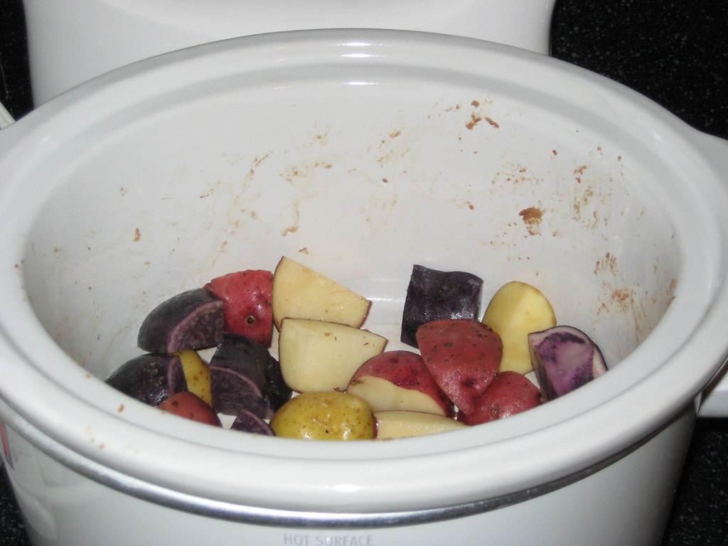 Potatoes in the Slow Cooker, Take 2