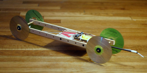 Mouse Trap Car. Mousetrap racer II