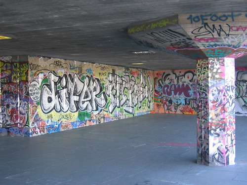 South Bank Graffiti I