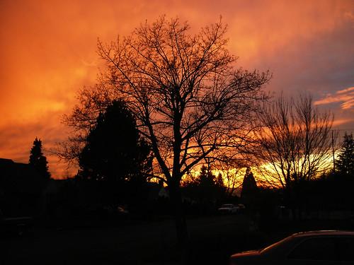 Sunset, Vancouver WA