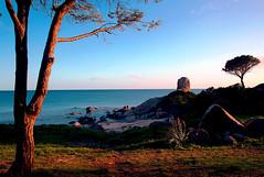 first HDR (Cina's Photo) Tags: sardegna sea sky colors canon italia mare like natura laser bella prima hdr cina crepuscolo ultrasonic capoferrato obbiettivo 400d