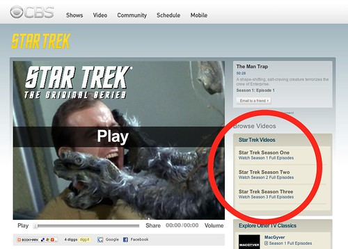 Star Trek - Video Episodes on CBS.com