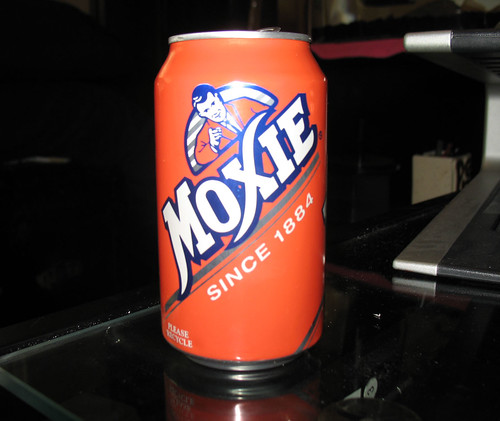 And for my birthday... Moxie?