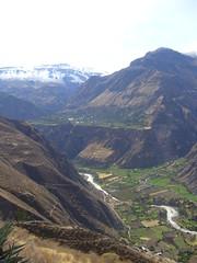 Huaynacotas canyon
