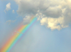 Rainbow (marlenells) Tags: blue sky cloud colors rainbow topc100 soe digitalcameraclub aplusphoto 200c 100commentgroup