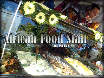 African Food Stall